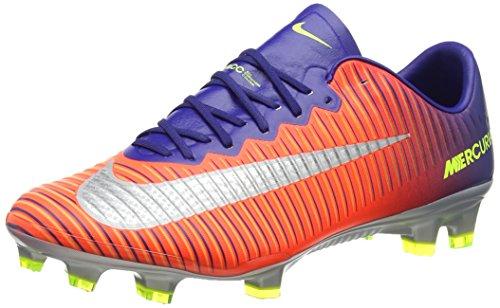 Nike Herren Mercurial Vapor Xi Fg Fußballschuhe, Mehrfarbig (Deep Royal Blue/Chrome-total Crimson-BRT), 45 EU -