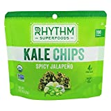 Rhythm Superfoods - Kale Chips Spicy Jalapeno - 0.75 oz.