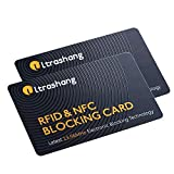 2 Credit Card Protector, RFID Blocking Card, Smartest Solution for Protect Entire Wallet