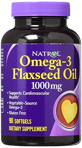 Natrol Omega-3 Purified Fish Oil, 90 Softgels [Vitamine & Mineralstoffe Kombinationen] -