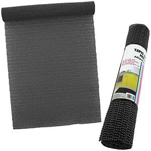 Tapis Juicy Antidérapant Protection Meuble Tiroir... 30x150cm Noir