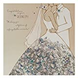 "Hallmark Hochzeitskarte""Unforgettable Moments"""