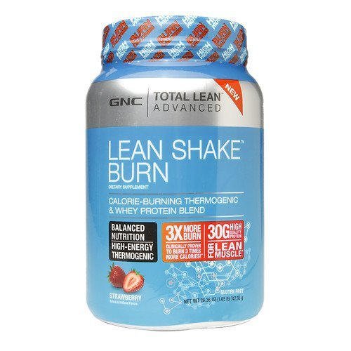 GNC Total Lean Advanced Shake Burn Strawberry 2636 Oz By