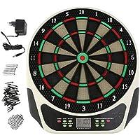 Pgige Tablero de Puntuaciã³n de Deportes en Interiores Tablero de Dardos Dart Target Profesional con Dardos Suaves Consejos de reemplazo Juegos entretenidos