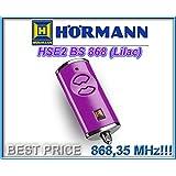 Télécommande HÖRMANN HSE2 868-BS lilac , 868,35 Mhz