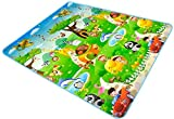 #4: 100% Waterproof, Single Side Baby Play & Crawl Mat (6 ft x 6.5 ft) (Colour & Design may vary)