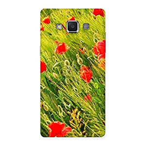 Stylish Beauty Flowers Farm Back Case Cover for Samsung Galaxy A5