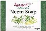 Ayuuri Ayurvedic Herbal Natural Neem Jabón 100g