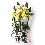 1/12 Fleurs Miniatures Multicolores pour Maison de Poupée