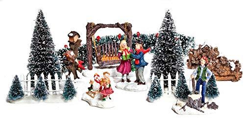 "VBS Deko-Miniaturen Set""Winter"""
