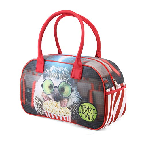 Karactermania Krazymals Hedgehog-Bowling Sporttasche Sporttasche, 40 cm, 14.5 Liter, Multicolour