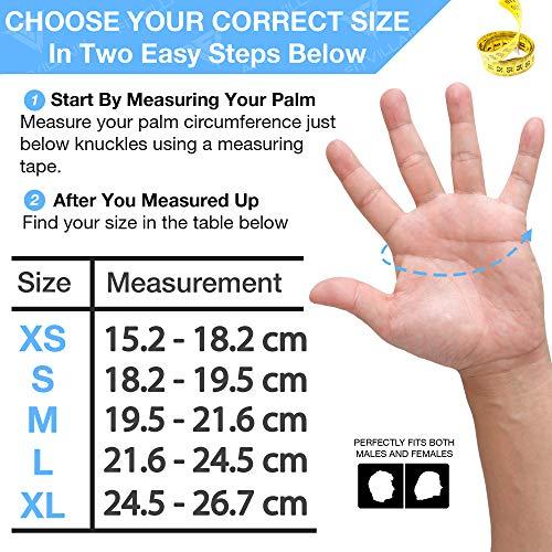 Zoom IMG-1 fitvillain guanti per crossfit palestra