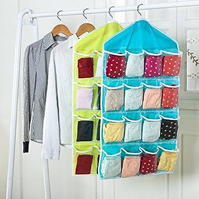 Vollter Hanging Storage Bag Container Bedside Wardrobe Toiletry Wall Door
