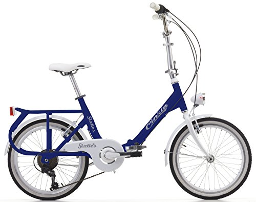 Klapprad Cicli Cinzia Sixtie's, Aluminium-Rahmen, Rad 20