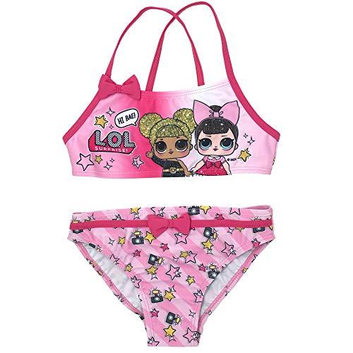 Preisvergleich Produktbild MGA LOL SURPRISE Mädchen Bikini,  Pink 8 Jahre