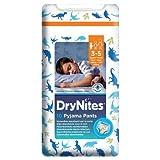 DryNites Absorbierende Nachthöschen für Jungen von 3-5 Jahren, 10 Stück pro Packung, 4 Packungen