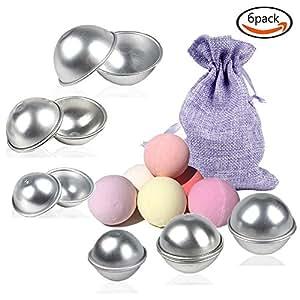 seifenform bath Bomb molds DIY badkamer bom vorm met 3maten 6sets 12stukken voor handwerk uw eigen zischen