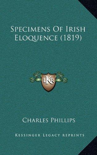 Specimens of Irish Eloquence (1819)