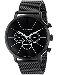 Akribos AK714BK - Reloj para hombres