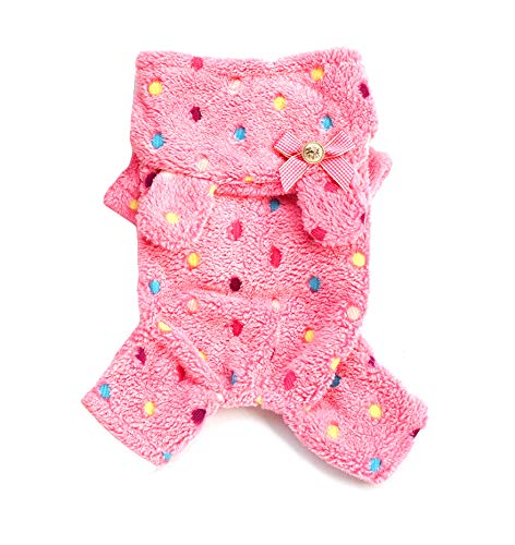 Lisay Kapuzenpullover Cute Dünne Hund Kleidungwinter Clothing Sweater - Rosa Doll Kostüme