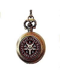 Ideal Como Regalo Para Enfermeras Capable Reloj De Bolsillo Con Diseño De Gato Relojes De Enfermera Relojes Y Joyas