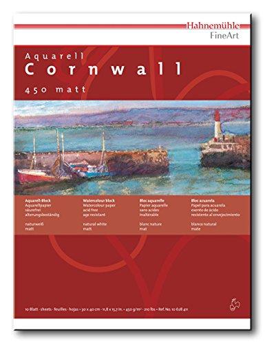 Aquarellblock Cornwall matt 450g/m², 42x56cm, 10Blatt