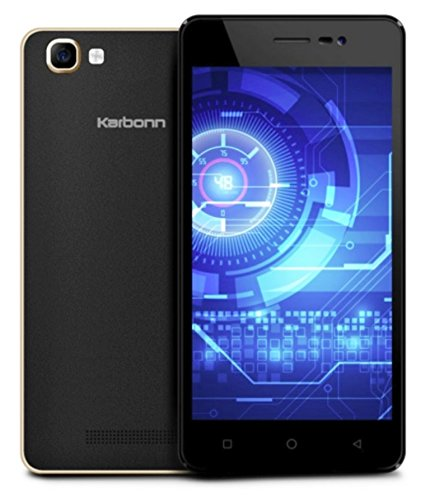 Karbonn K9 Smart 4G VoLTE (Black Sandstone)