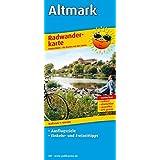Altmark: Radwanderkarte mit Ausflugszielen, Einkehr- & Freizeittipps, wetterfest, reißfest, abwischbar, GPS-genau. 1:100000