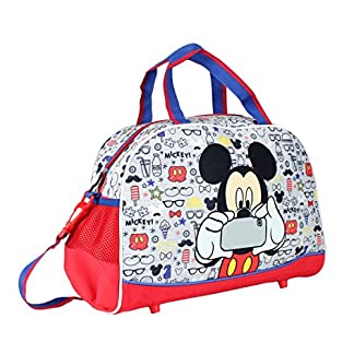Mickey Bolsa de Deporte, Color Azul