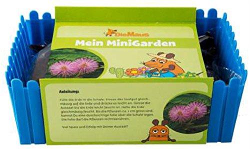 Die Maus Minigarten - Schmollblume im Beet für Kinder