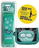 Bastoni da sci Kids Hand Held & portafoglio–Skiweb esclusiva confezione