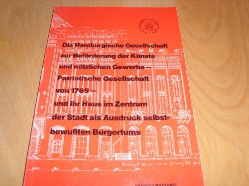 Beförderung Kabel (Die Hamburgische Gesellschaft zur Beförderung der Künste und nützlichen Gewerbe - Patriotische Gesellschaft von 1765)