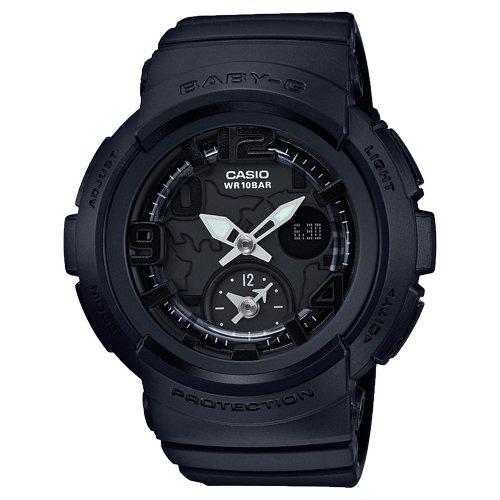 Casio Baby-G Analog-Digital Black Dial Women's Watch - BGA-190BC-1BDR (B166) image