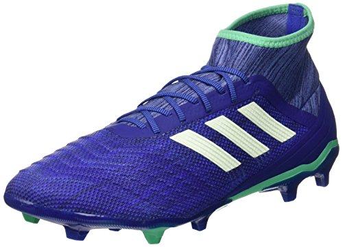 adidas Herren Predator 18.2 FG Fußballschuhe, Blau (blau/grün blau/grün), 46 EU