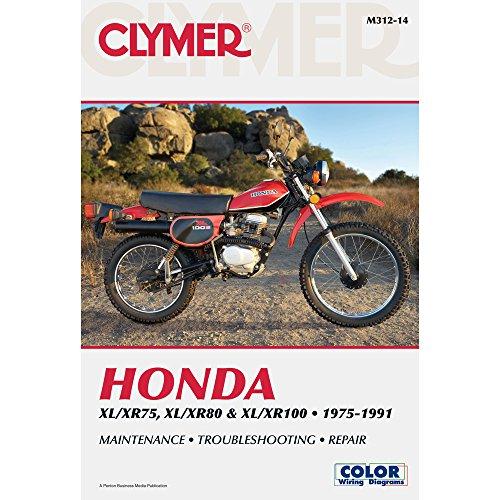 Honda XL/XR 75-100 1975-2003 (CLYMER MOTORCYCLE REPAIR)
