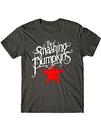 LaMAGLIERIA Camiseta Hombre Slim Death Note Shinigami Apple D N002 - Camiseta 100% Algodòn Ring Spun