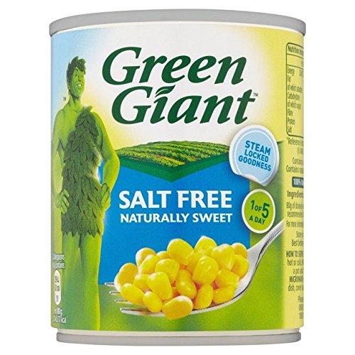 Géant Vert Maïs Doux Naturellement Doux 198G - Paquet de 2