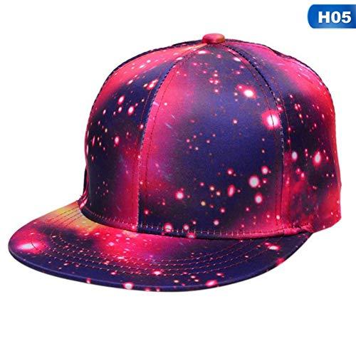 Imagen de jjjrmp planet  de béisbol universo gypsophila stars  sombreros hombres mujeres algodón swag hip hop  de red ajustada boinas kullies y gorros