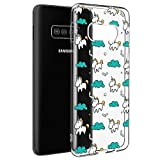 Pnakqil Coque Samsung Galaxy S5 Mini, Etui en Silicone 3D Transparente avec Motif...