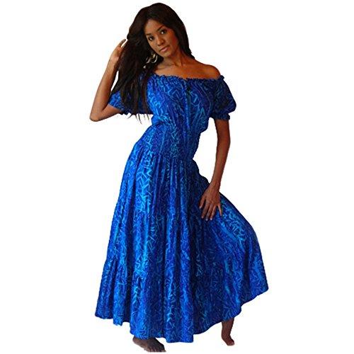 Lotustraders -  Vestito  - Donna Bright Blue