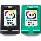 Refilled HP 350 And 351 Inks C4280 C4380 C5280 C4480 C4580 D5360