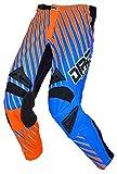 DIRT-RACEWEAR Motocross Enduro Naughty Pantalones Nuevo 5colores, todo el año, color Orange/Blau,...