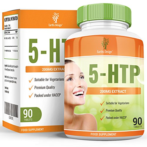 double-strength-200mg-5-htp-tryptophan-griffonia-simplicifolia-90-tablets-3-month-supply-by-earths-d