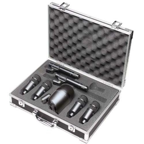 Stagg DMS-5700H 7 Piece Drum Microphone Set and Carry Case