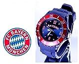 TV-24 Bayern Armbanduhr + FC Bayern München Bierdeckel