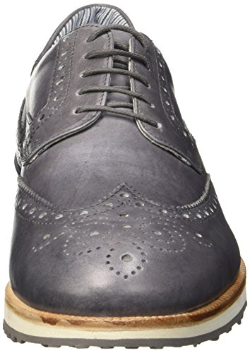 Docksteps Kentucky, Oxfords Homme Jaune (Antracite)