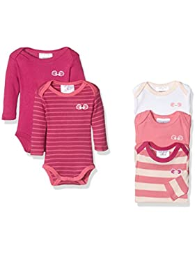 Twins Baby-Mädchen Body langarm, 5er Pack