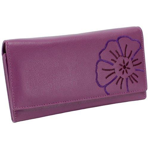 Portafoglio da donna in pelle portafoglio Branco donna borsa donna vers portafoglio. Disponibile in vari colori Rosa