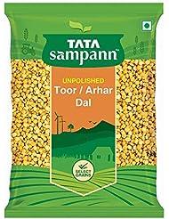 Tata Sampann Unpolished Toor Dal/Arhar Dal, 1kg