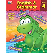 English & Grammar Workbook, Grade 4 (Brighter Child: Grades 4)